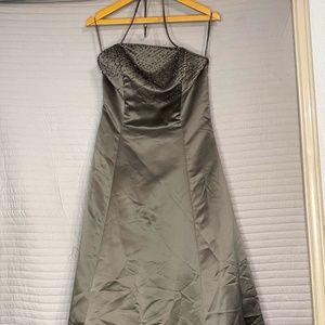 Women's Long Gray Dress